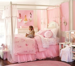 A paradise for pink lovers, not so much for pink haters.