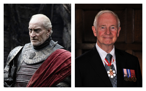 Tywin Lannister and G.G. David Johnston