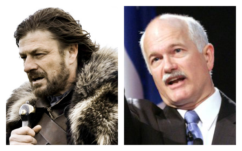 Ned Stark and Jack Layton