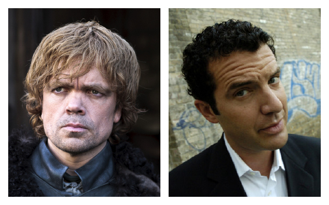 Tyrion Lannister and Rick Mercer
