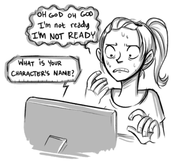 choosing a character name is the hardest part