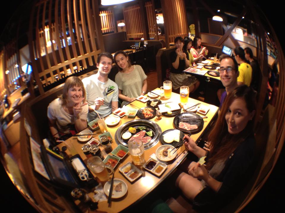 What better way to turn 29 than to eat at least 29 pieces of meat at all-you-can-eat Korean BBQ? (photo: Beyond Wen)