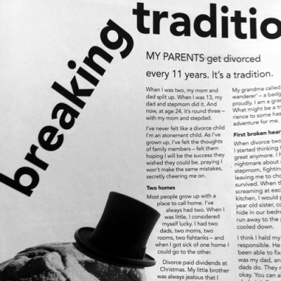 breaking tradition original article