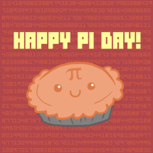Cute Happy Pi Day graphic