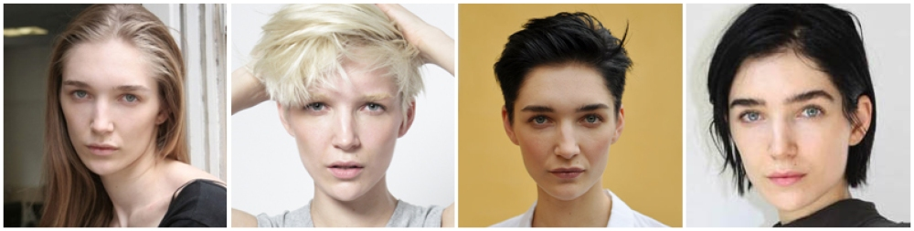 Janice Alida hair evolution