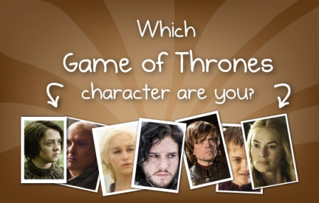 Oatmeal GoT quiz - Which Game of Thrones character are you?