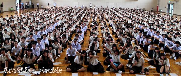 farewell speech students