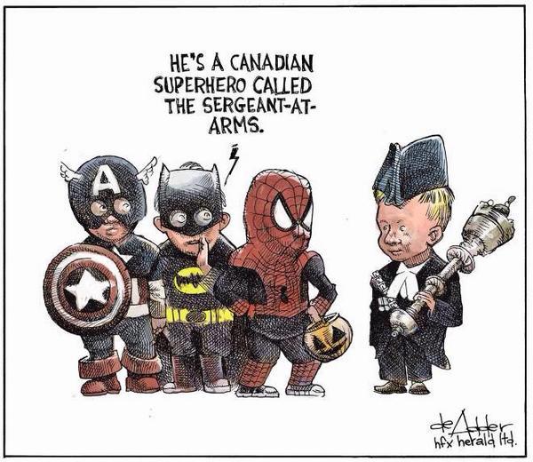 Canadian Superhero! Source: deAdder.