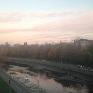 Gorgeous sunset over the Rideau Canal in Ottawa on the way home the day of the shooting.