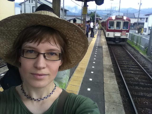 Janelle leaving Japan