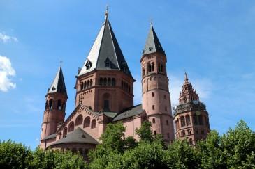 Mainz Dom view