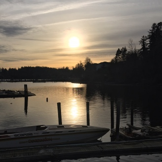 sooke sunset dock