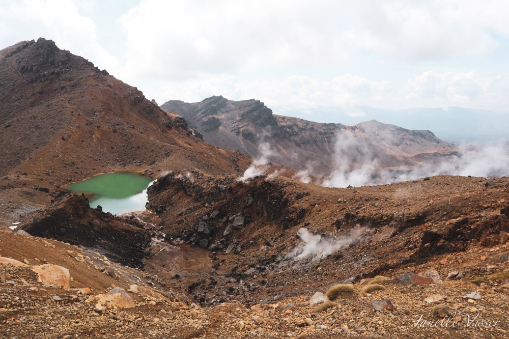 Mineral Lakes and steam