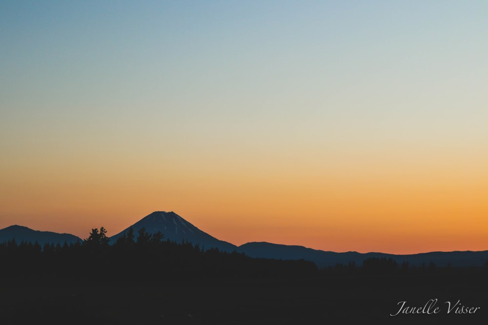 Mt Doom Sunrise (1 of 1)